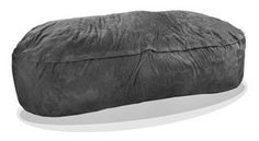 SLACKER sack foam bean bags are the most comfortable, fun and versatile pieces of furniture you can find. Perfect for a Family Room, Theater Room, Dorm Room, or Den. Fits 4 People comfortably. Our generous amounts of high quality shredded (not chunk) foam and durable Microfiber covers ensure the highest quality product. We use a very strong zipper for extra strength and all the seams are double stitched...