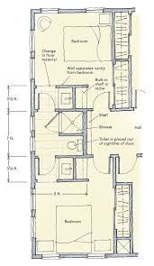 7 Best JACK AND JILL LAYOUTS images | Home plans, House floor plans ...