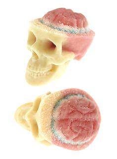 Chocolate Skulls Gone Nuts. on Behance