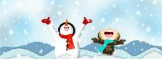 Best Winter Snow Cartoon Hd Fb Timeline Cover 851x315 Facebook Covers