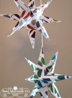Paper Star Tutorial (she: Pam) - Or so she says...