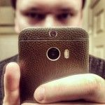 #Slickwraps Brown Leather Full Body Wrap for the #HTC1M8  Instagram photos for tag #slickwraps | Iconosquare from @jimbarky