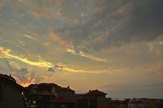 Sunset in Sozopol V (At the Seaside Resort in Bulgaria, Europe)