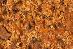 Pig's Liver Rice Rice Dishes, Stuffed Green Peppers, Main Meals, Cooking Time, Oven, Curry, Baking, Ethnic Recipes, Food