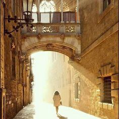 Улица Бисбе  Bisbe street  Photo by @natasha_pivtsaeva  #bisbe #барселона #испания #каталония #барна #barcelona #bcn #barna #catalonia #catalunya #cataluña #españa #spain #лето #vk #город #фото #ночь #я #красота #красиво