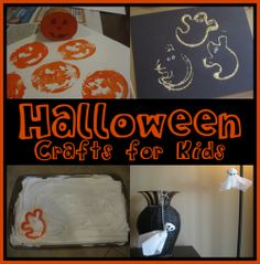 Halloween Crafts for Kids and Toddlers