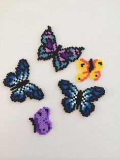 Butterflies perler beads