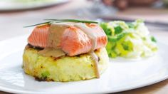 Recipe: Pan-fried salmon with mustard and Guinness sauce | Stuff.co.nz