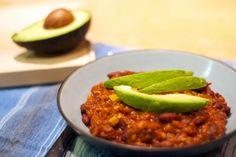 Recette de chili végétarien au tempeh | Fraîchement Pressé