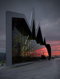 Riverside Museum, Glasgow, Scotland by jill