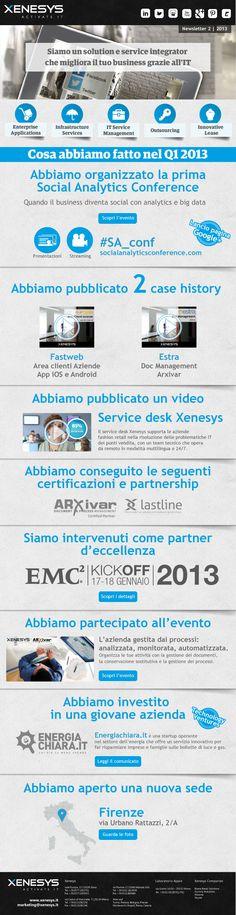 Il meglio di Xenesys Q1 2013: eventi, case history, best practice, video e tutto quello che serve per #migliorare il #business grazie all'#IT.