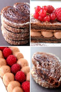 "Chocolate Pâte Feuilletée adapted from Pierre Hermes' ""Chocolate ..."