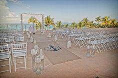 Modern Beach Wedding at Fontainebleau Miami Beach, FL