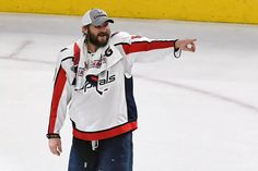Why We Cry - Japers' Rink Alex Ovechkin, Crying, Motorcycle Jacket