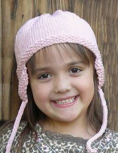 Earflap Hat for children in Merino 5 - free knitting pattern - Crystal Palace Yarns