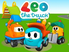 Leo is a smart truck always looking forward for adventures. If any part is missing Leo will find it at the playground with your help. Little Truck, Car Trailer, Video On Demand, Baby Games, Baby Birthday, Animation, Projects For Kids, Baby Boy, Trucks
