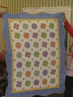 Quilt in a Day 2010 by Janet BA, via Flickr