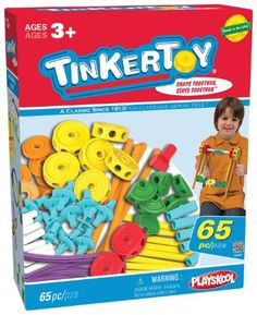 Tinkertoy 65 Piece Essentials Value Set $23