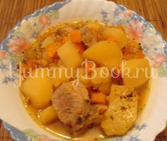 Тушенная картошка в мультиварке - пошаговый рецепт с фото
