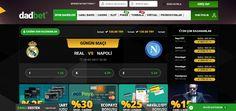 Dadbet - Dadbet sitesi, Redsoft altyapısıyla 2017 yılında hizmet vermeye başlayan bir sitedir. Kullanıcılarına spor bahisleri, casino, canlı casino, poker, tombala ve sanal oyunlarla hizmet veren site, Curaçao lisanslıdır. Dadbet'in lisans numarası da8048/JAZ2014-014 olarak belirlenmiştir. Ancak... - http://betmag.net/dadbet/