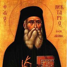 Saint Nektarios of Aegina Greece. A beautiful life and sweet spirit dedicated to helping his fellow man.