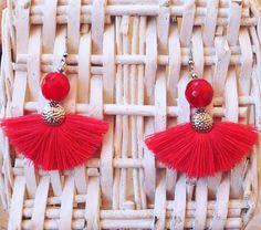 """""""ESTELLA CREAZIONI""""Orecchini con nappe e pon pon, in rafia o cotone, o stoffa pezzi unici, realizzati a mano... colorati e leggeri...#artigianato #monetine #pezziunici #moda #ibiza #orecchininappe #orecchini #estate17 #nappe #ponpon #perline #colore #spiaggia #primavera17 #fashion #musthave #accessori #bijoux #instagood #instadaily #instamood #instastyle #girl #bijouxhandmade #fashionblogger #womensfashion #boho #gypsy"""