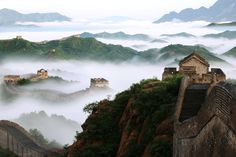 Picture of the Great Wall of China