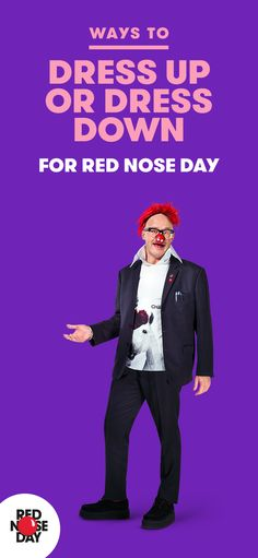 Wearing wellies for a week? An office full of Madonnas? Whatever you decide to do when you are fundraising for Red Nose Day, do it in style. Silly style! We've got lots of tips on our website to help make this the best fundraiser ever.