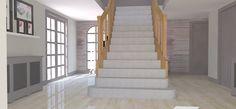 Hot House, Portfolio Images, 3d Visualization, Stairs, Interior Design, Home Decor, Nest Design, Stairway, Decoration Home