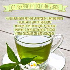 Aposte no chá verde para dar um 'up' na sua dieta! http://maisequilibrio.com.br/nutricao/chas-2-1-1-470.html
