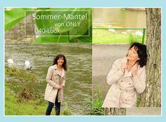 Sommer-Mantel Only Ü40 Look #Regen #Ü40 #Sommermantel #MantelOnly