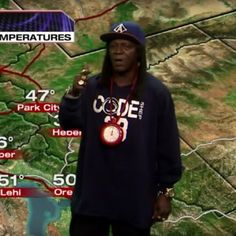 Flavor Flav Did The Weather In Salt Lake City