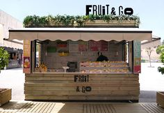 Fruit&Go, Pop-up Store on Behance