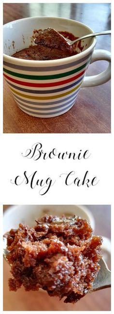 Brownie Mug Cake | Sweet Blessings                              …