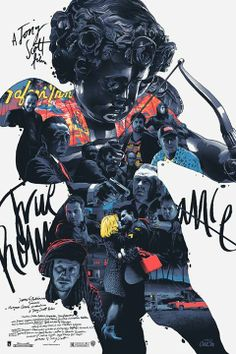 True Romance Movie Poster | #movieposter #design