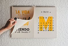 50 Absolutely Beautiful 2016 Calendar Designs                                                                                                                                                                                 More