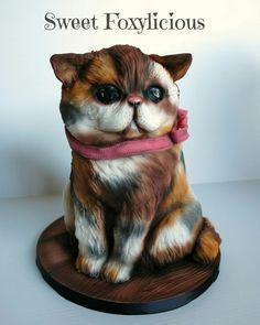 Porsha the Persian Cat Cake Paul Bradford Sugarcraft School tutorial coming soon!
