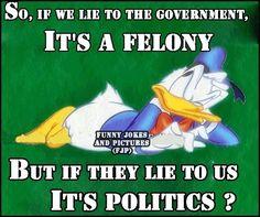 Politics felony funny quotes quote lol funny quote funny quotes humor political