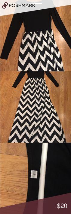 Brand New boutique Maxi Dress Black and white maxi dress Dresses Maxi