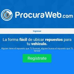 Ingresa en www.procuraweb.com y solícita el repuesto que tu vehículo necesita. Sí alguien busca el repuesto que tienes! Alguien tiene el repuesto que buscas! Dudas? Nuestro número de contacto está para servirte 04246781217  #ProcuraWeb #Vehículo #Repuesto #Caucho #Bomba #Alternador #Servicio #Calidad #Garantía #Seguridad #Venezuela