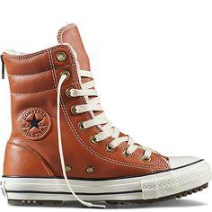 de7fe2e6081 Chuck Taylor All Star Hi-Rise Boot Leather + Fur Sépia antique Parchemin