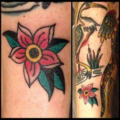 done by Bianca Bück Tattoo Apprentice @IronMonkey Darmstadt #firsttries #tattooapprentice #bianca_bueck