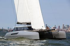 Gunboat 55' Rainmaker catamaran