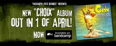 "Choix (""Choiсe"" from French) - young punkrock group from Moscow. Group was formed in August 2007 by five different guys who have something to say. They like many styles of music - reggae, ska, punk, oi!, rock'n'roll, psychobilly, hardcore and so on.  This is new album on bandcamp! Listen it, download it, share it!"