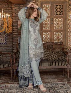 Maryam's Premium Vol 5 Party Wear Salwar Suit Pakistani Fashion Casual, Pakistani Dresses Casual, Asian Fashion, Pakistani Salwar Kameez, Patiala, Salwar Suits, Shalwar Kameez, Kurti, Clothing Studio