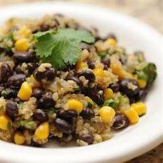 Quinoa and Black Beans | Recipes | Beyond Diet