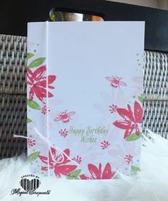 Magical Scrapworld: Happy birthday wishes, 2017, avant-garden, cards, SAB, sale-a-bration, Stampin' Up!, touches of texture