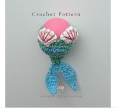 Mermaid  EOS Lip Balm Holder  Instant Download by OnePaisleyPig