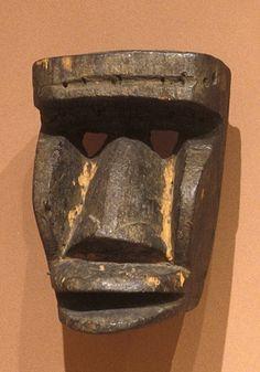 FACE MASK FOR KAOGLE MASKER culture Dan people creation date 1890-1930