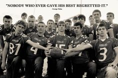 Davenport High School Football Team- '13